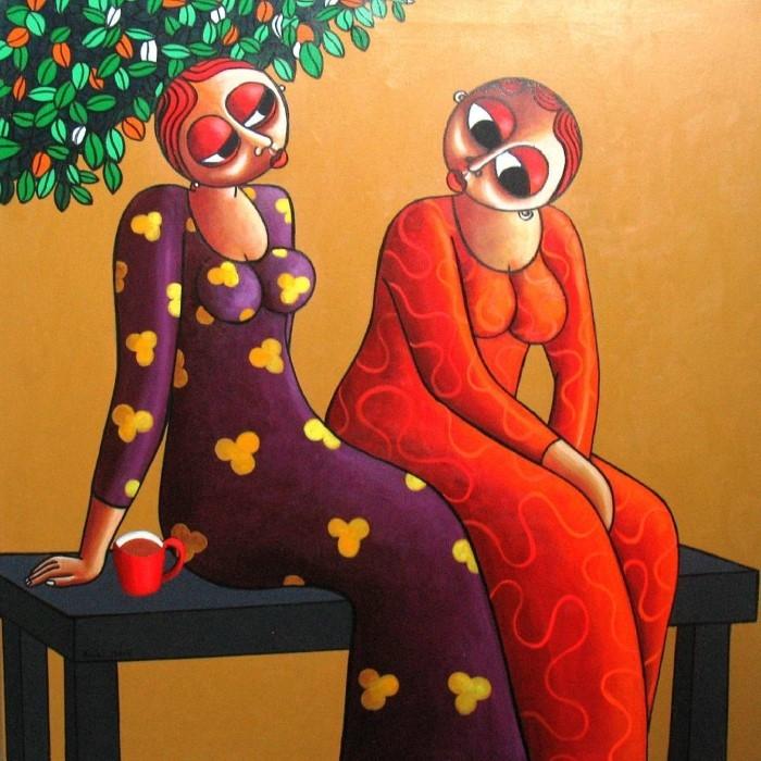 Нигерийский фигуративный художник