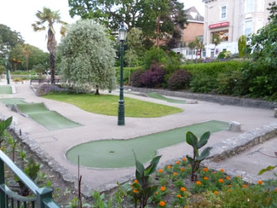 Mini Golf in the Lower Gardens, Bournemouth