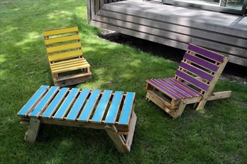 101 Pallets Diy Pallet Lounge Chair