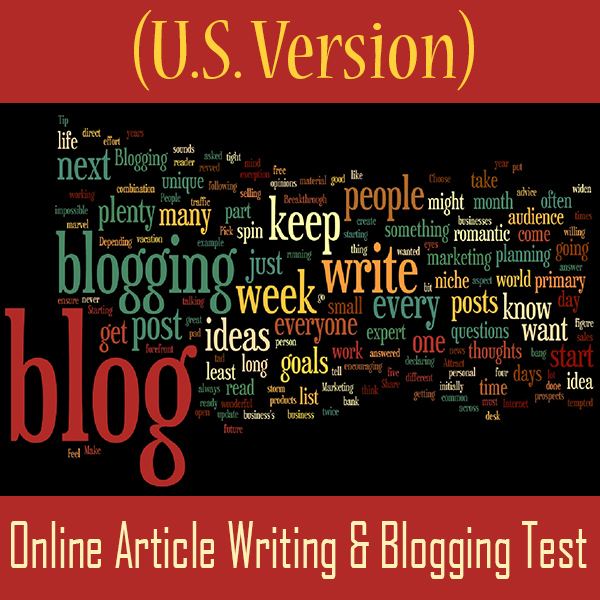 Content Writing Skills Test 2018