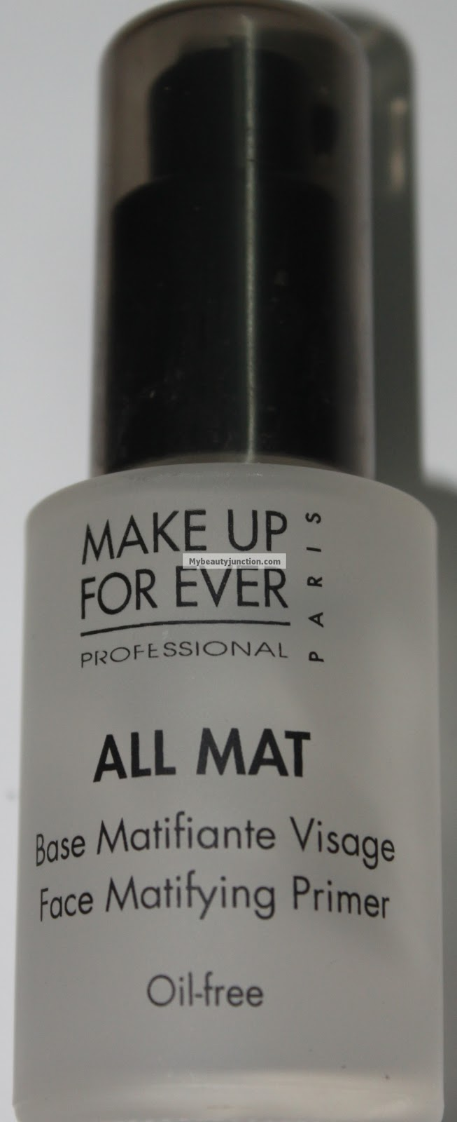 Review of Make Up For Ever - MUFE - All Mat primer