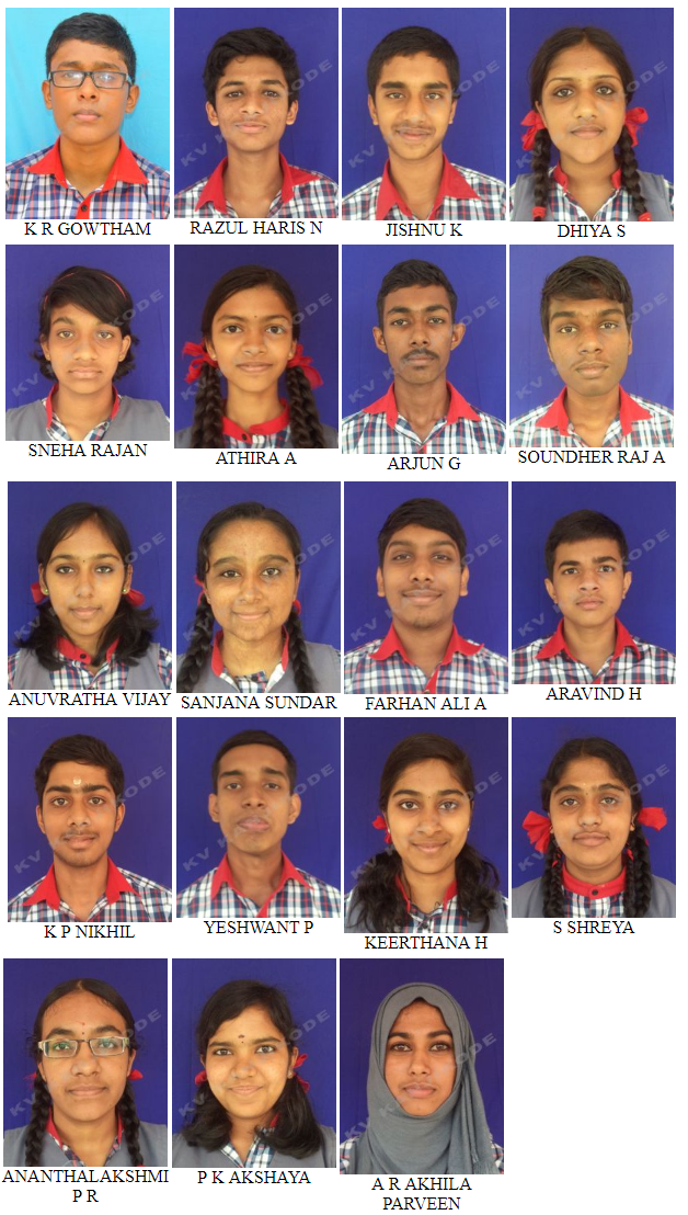 AISSCE 2019 - STUDENTS WITH A1 IN ALL SUBJECTS