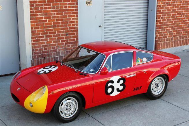 1000 Gt Bialbero Targa Florio Vintage Race Car For Sale Interior