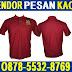 Konveksi Kaos Oblong Sablon, Poloshirt Bordir Murah di Surabaya