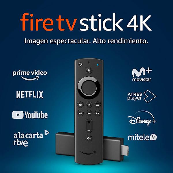 Fire TV Stick 4K a excelente preço!