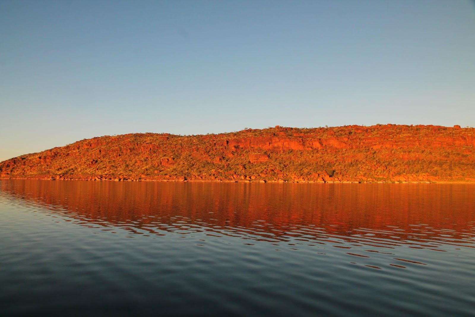 Photo taken by me on Lake Argyle.