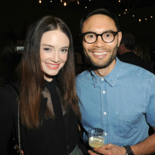 Simon Phan with his celebrity wife Mallory Jansen