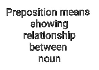 Prepostion Meaning and Prepositions Attached To Certain Words