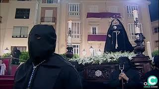 Vídeo de Ecce Mater Tua por la Plaza del Palillero en la Semana Santa Cádiz 2019