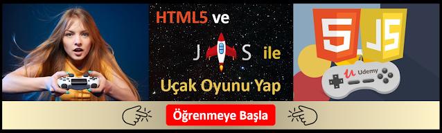 HTML5 ve Javascript Oyun yapımı Dersleri