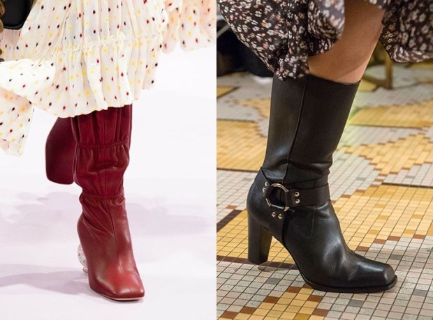 Fall-Winter 2018-2019 Women's Short Boots With High Heel Fashion Trends