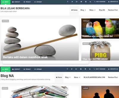 Cara memilih template blog yang sesuai, pilih template blog, template blog terbaik