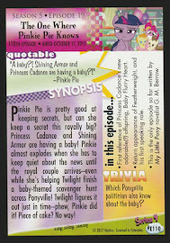 MLP The One Where Pinkie Pie Knows Series 4 Trading Card