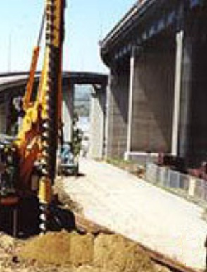 Predrilling is done to avoid distress of surrounding structures in driving pile foundation into plastic clay