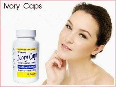 Ivory caps pills bí quyết làm trắng da của các mỹ nhân