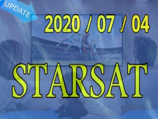 جديد تحديثات الموقع الرسمي ستارسات STARSAT بتاريخ 2020/07/04