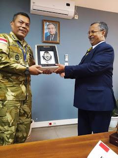 Tingkatkan Diplomasi Militer Kasum TNI Kunjungan Kerja ke Mali Afrika Barat