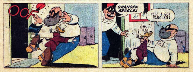 "Grandpa Beagle in Carl Barks' ""The Money Well"""