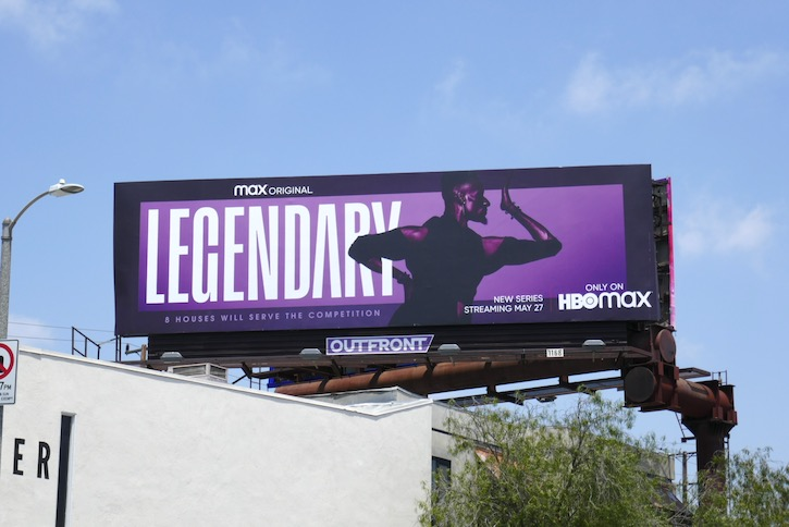 Legendary HBO Max series billboard