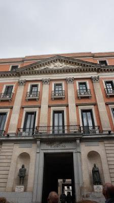 Fachada del Palacio de Buenavista