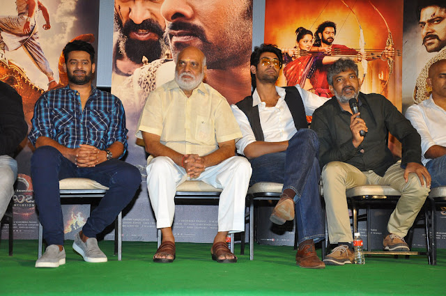 Baahubali 2 Movie trailer launch photos