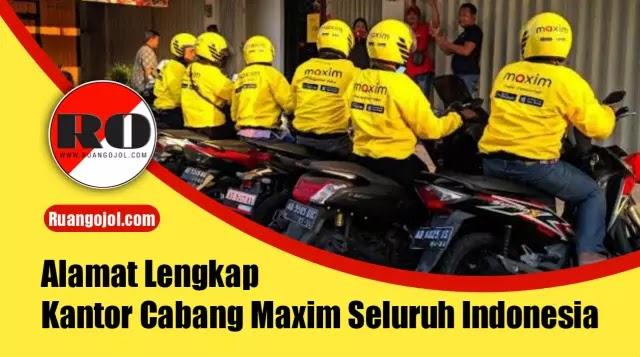 Alamat maxim Indonesia
