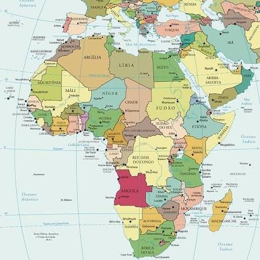 Países do Continente Africano: Guiné