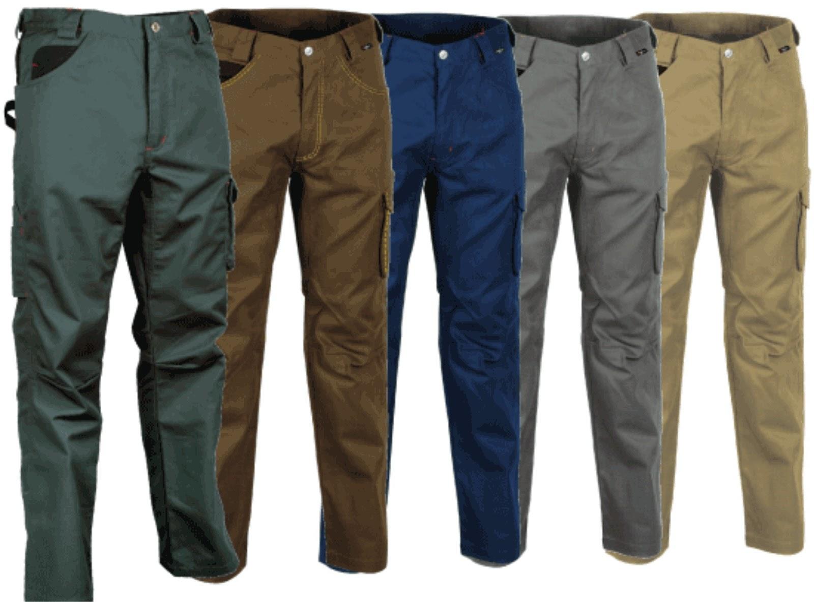 Pantalones De Dril Para Hombre