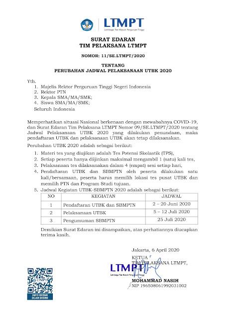 Persyaratan Jadwal Dan Cara Pendaftaran Sbmptn Ta 2020 2021