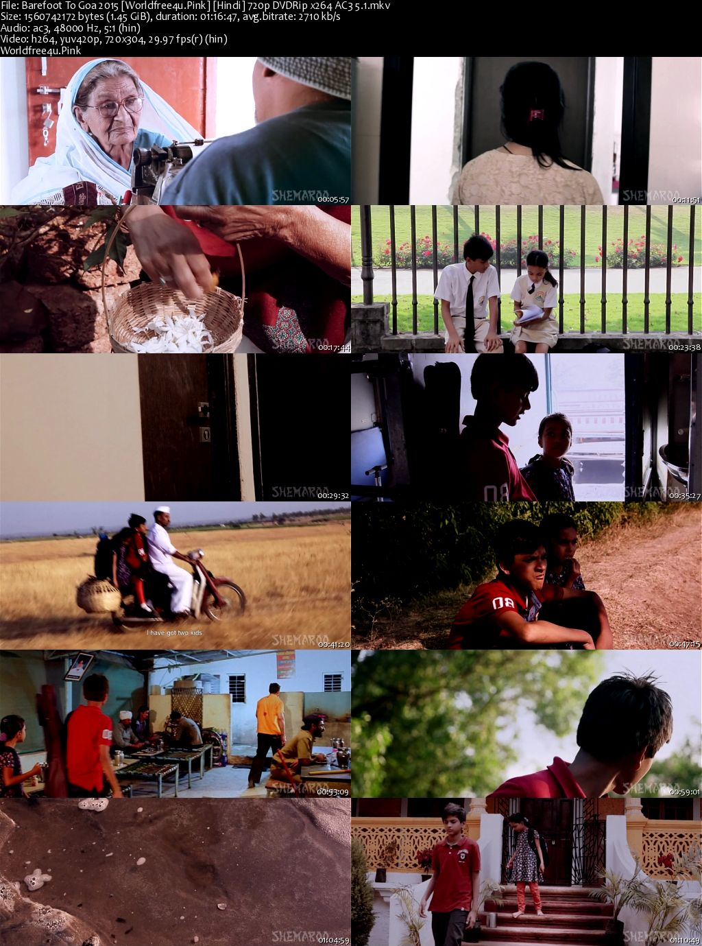 Barefoot To Goa 2015 Hindi DVDRip 720p