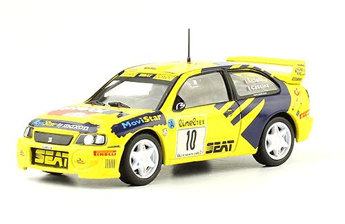 collezione rally monte carlo Seat Cordoba WR 1999 P. Liatti - C. Cassina