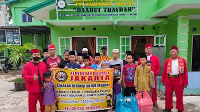 KKJ Kota Batam Berbagi Sembako kepada Panti Asuhan