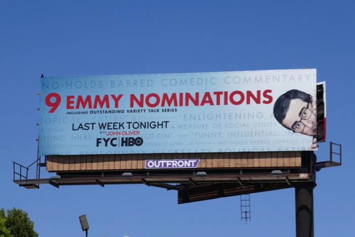 Last Week Tonight John Oliver 9 Emmy nominations billboard
