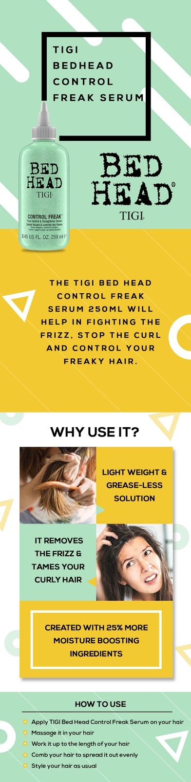 tigi bed head serum
