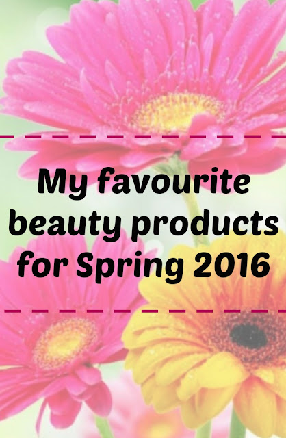 Spring 2016 beauty products