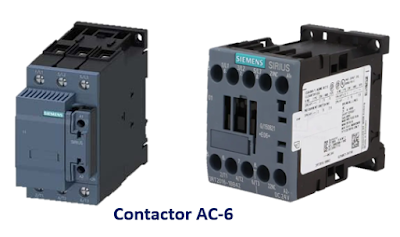 What is Contactor Types and Code in Electrical