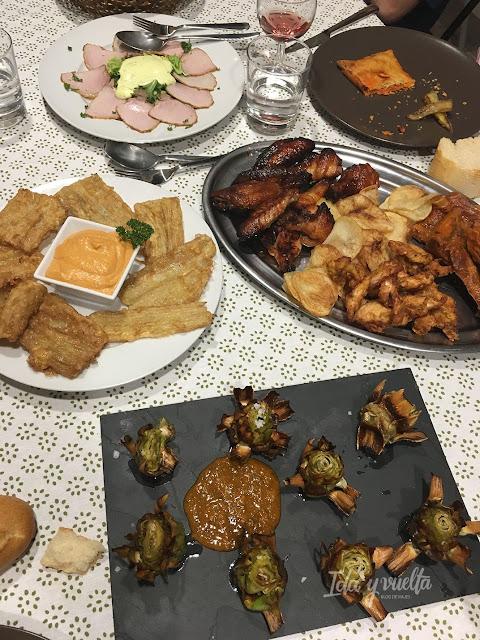 Monte Higueras cena