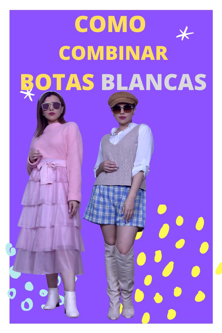 como crear outfits con tu ropa - como crear outfits- combinar botas blancas-tendencias otoño invierno 2020- tendencias invierno 2021- mariestilo