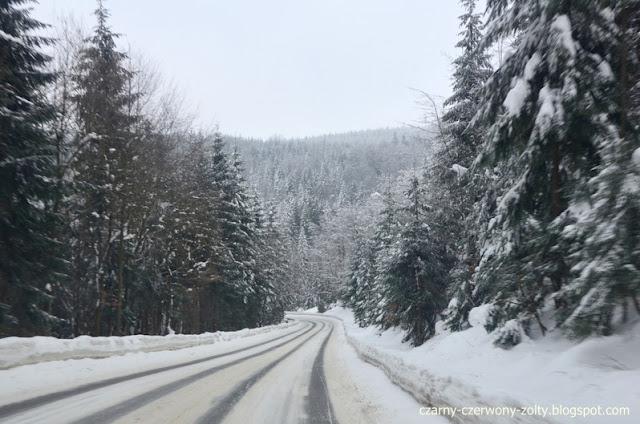 Zima w górach- tak było! Rok temu...