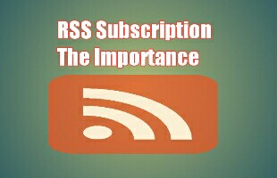 importance of RSS feeds