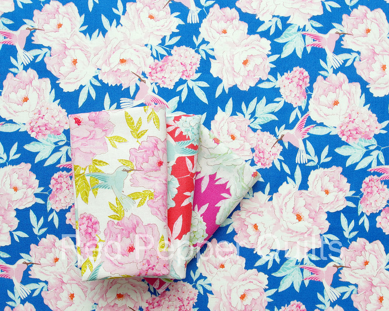 Lemon Tree by Tone Finnanger for Tilda Fabrics | © Red Pepper Quilts 2018