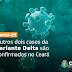 Ceará registra seis casos da variante Delta, diz Sesa