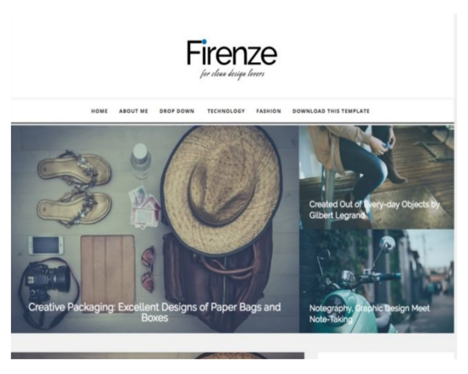 Firenze Responsive Blogger Template