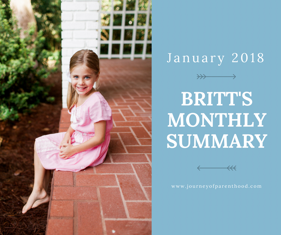 Britt Monthly Summary: January 2018