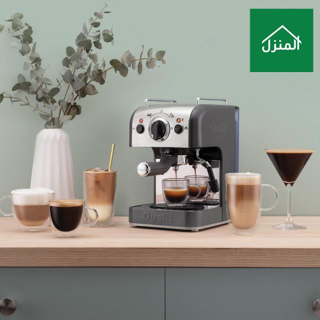 مكينة صنع القهوة في المنزل