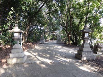 交野天神社 参道
