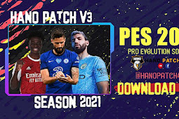 HANO PATCH V3 Season 2020/2021 AIO - PES 2013