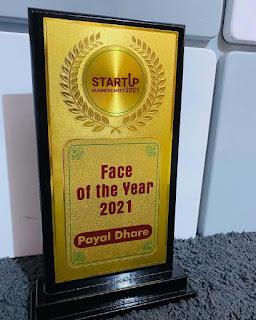 startup business meet 2021 chhindwara face of the year payal gaming/payal dhare