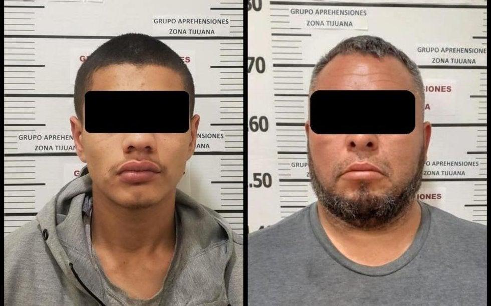 """Detienen por homicidio a """"El Jimmy"""" del Cártel Jalisco Nueva Generación y a """"El Morral"""" de los Arellano Félix en Baja California"""