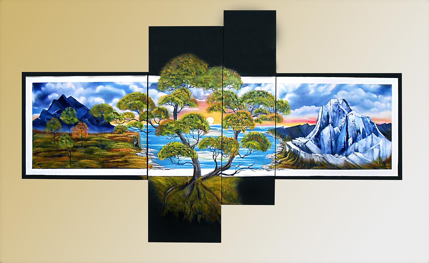 Original Paintings For Interior Exclusive Digital Print